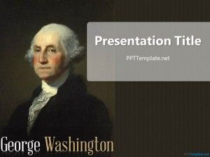 Free George Washington Ppt Template Ppt Template Free Ppt