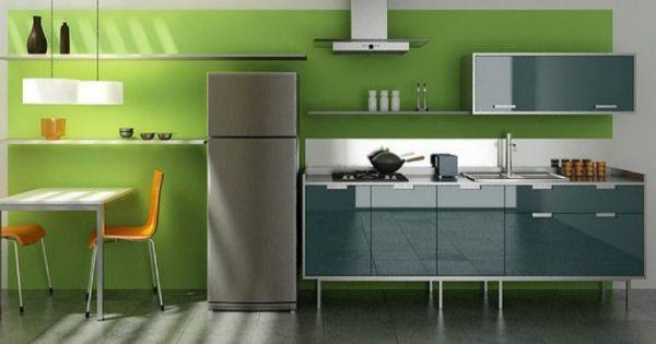 Must Consider Soothing Grey Kitchen Design Ideas Decor Art Green Kitchen Walls Green Kitchen Grey Kitchen Designs