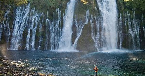 Lake Shasta And Some Of The Most Scenic Waterfalls Of California Including Mossbrae Falls California Travel Road Trips California Waterfalls Shasta Cascade
