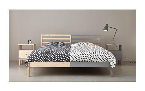 Tarva Pine Luroy Bed Frame Standard Double Ikea Ikea Bed Bed Frame Ikea 2015