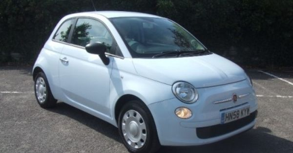 fiat 500 pop in light blue first car pinterest. Black Bedroom Furniture Sets. Home Design Ideas
