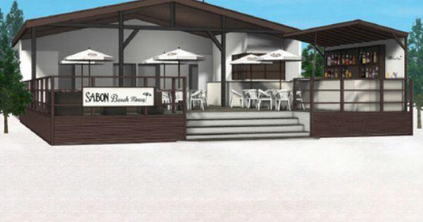 夏の女子会は サボン のビーチハウスに決定 エル ガール