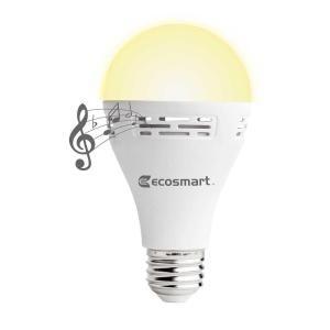 Ecosmart 40 Watt Equivalent A21 Non Dimmable Smart Bluetooth