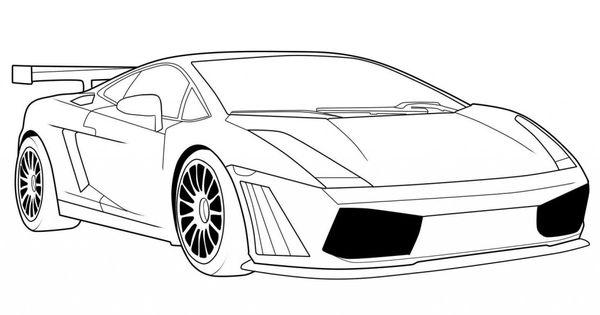Lamborghini Car Coloring Pages | kifestok | Pinterest