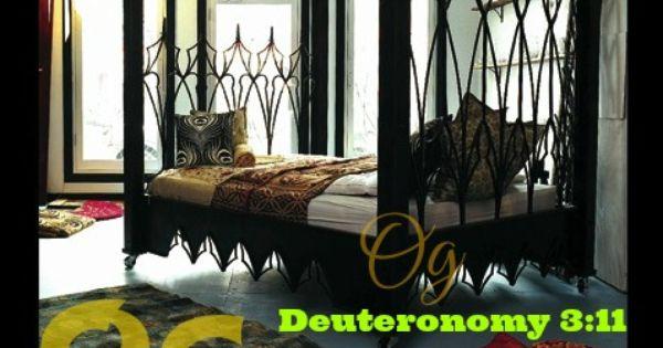 Deuteronomy 3 11 King Og Of Bashan Was The Last Survivor
