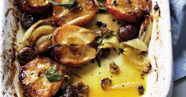 Roasted apples and chestnuts | Savory | Pinterest | Apples, Butter and ...