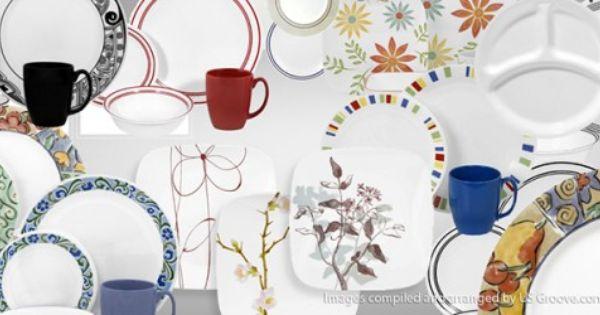 Corelle Dishes Made In Usa Corelle Dinnerware Set Dinnerware Sets Corelle