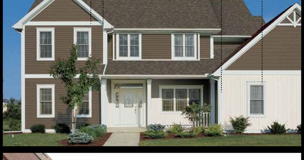 Monogram Sable Brown Siding By Certainteed Exterior