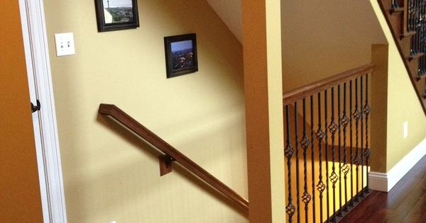 staircase opened to basement before after google search Kitchenette Basement Remodels Pinterest Basement Bar