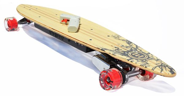 the evolve electric pintail skateboard with excellent high. Black Bedroom Furniture Sets. Home Design Ideas