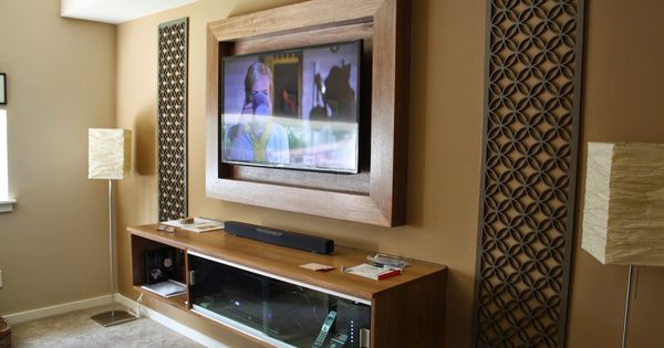 Pin By Khiyana Parsons On Tv Wall With Images Framed Tv Tv