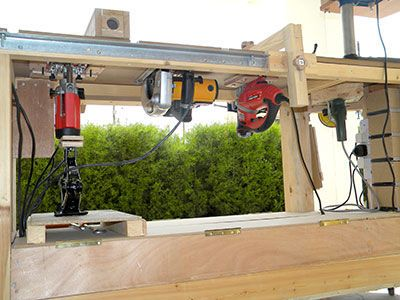 The Smallest Workshop In The World Woodworking Bench