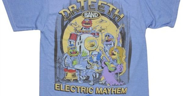Muppets T-Shirt Dr Teeth and the Electric Mayhem Mens