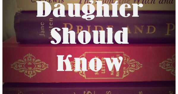 Great Girls Your Daughter Should Know: A great list of books all