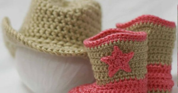 Baby Crochet Patterns | Baby Cowboy Crochet Patterns. Includes patterns for Boot