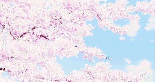 Aesthetic Anime Cherry Blossom Wallpaper Anime Pink Scenery Flower Pastel Sakura Aesthetic Art On T Anime Scenery Wallpaper Anime Scenery Anime Cherry Blossom