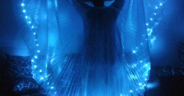 Belly Dance Led Light Isis Wings Belly Dance Costumes