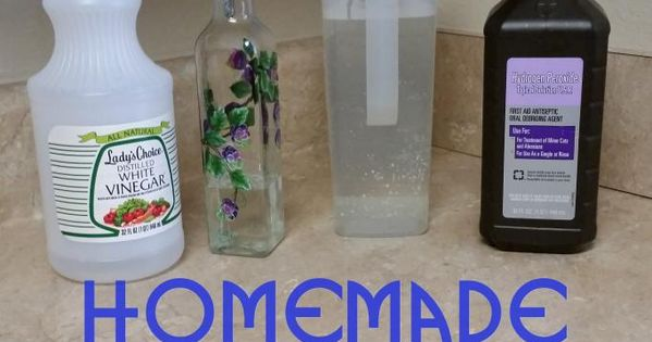 Homemade Steam Cleaner Solution | Oven Mitts and Merriment ...