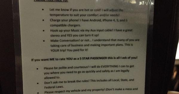 uber driver rules colorado