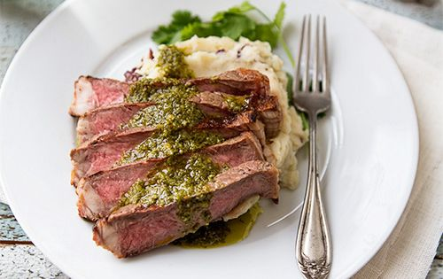 Grilled steaks, Steaks and Chimichurri sauce recipe on Pinterest