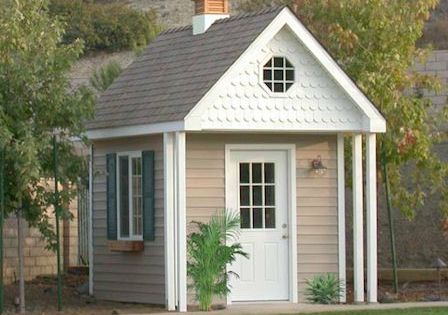 White Scallop Siding Gables Example Remodel Siding And