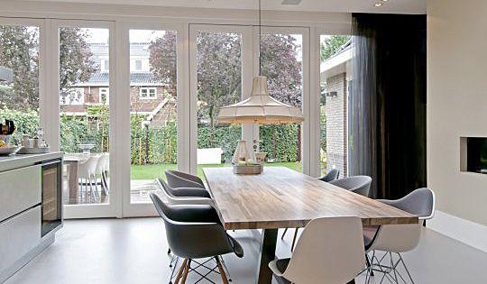 Uitbouw aan achterzijde jaren 30 woning idee n voor het huis pinterest living rooms and room - Lay outs rond het huis ...