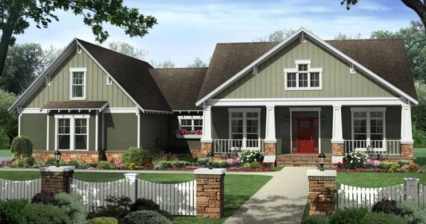 With So Many Styles Of Craftsman Home Plans At House Plans