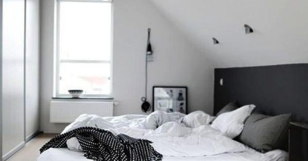 Leuk dat onderstuk van schuine wand in een andere kleur bedroom ideas pinterest bedrooms - Kleur schilderen master bedroom ...