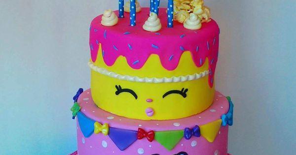 Shopkins Cake So Cute Cake Pinterest Shopkins Cake Shopkins And Cake
