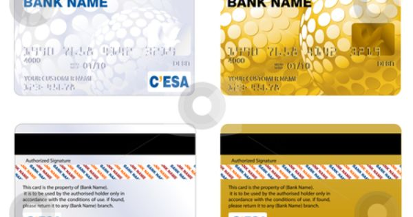 Printable Play Credit Card Templates Credit Card Stock