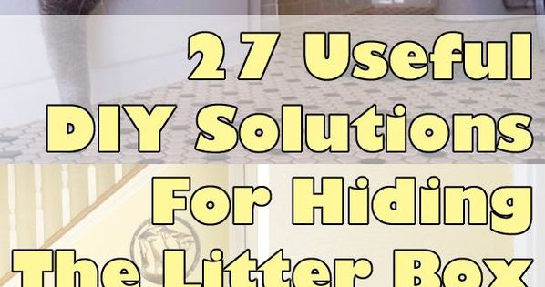 litter box for cats and boxes on pinterest cat lovers 27 diy solutions