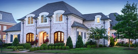 Dream Home Exterior Brick Treatments Castle House French Country House Plans French Provincial Home