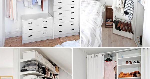 Armarios abiertos para espacios peque os armario abierto - Armarios espacios pequenos ...