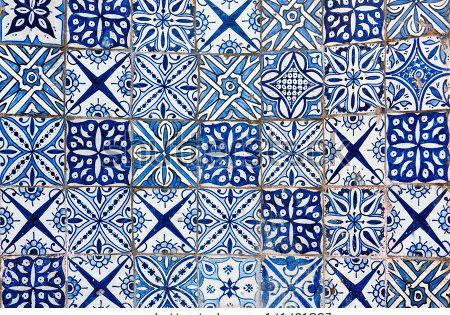moroccan tile background stock photo tile pinterest. Black Bedroom Furniture Sets. Home Design Ideas
