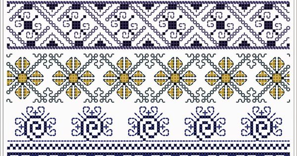 Romanian Traditional Motifs Oltenia Dolj Romanati Semne Cusute Traditional