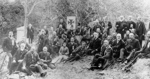 in 1889 veterans of the 20th maine volunteer infantry