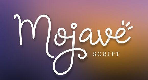 Mojave Script + Extras by Denise Chandler