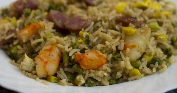 Riz frit for Cuisine mauricienne