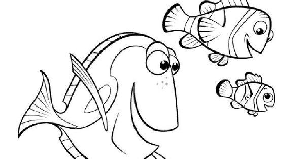 Dibujos Para Colorear Disney Nemo Coloring Pages Finding Nemo