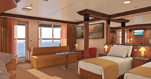 Carnival Imagination Grand Suite Cruise Ship Vacations