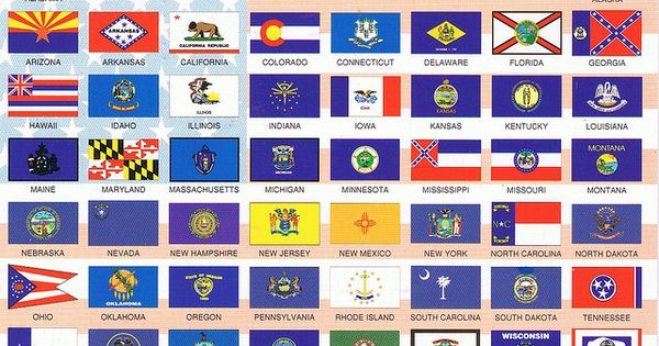 the 50 state flags