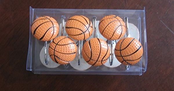 Basketball Shower Curtain Hooks Click On The Image For
