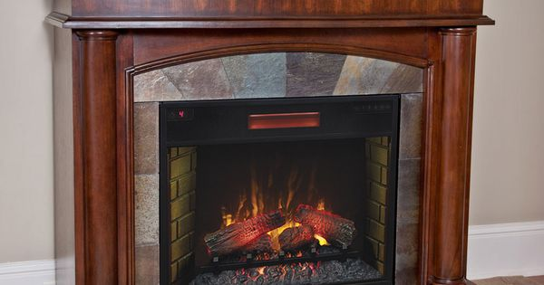 Electric Fireplaces Clearance Aspen Electric Fireplace Mantel Package In Meridian Cherry