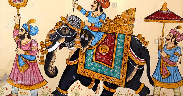 Representation Elephant Rajasthan India Stock Photo Indian Elephant Art Rajasthani Art Rajasthani Miniature Paintings If you like, you can download pictures in icon format or directly. indian elephant art rajasthani art