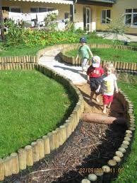 Bildergebnis Fur Barfusspfad Barfusspfad Garten Spielplatz Ideen