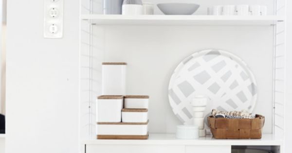 String shelving system for Dep decoration interieur