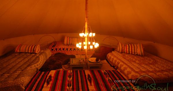 Tealight Chandelier For The Bell Tent Best Tents For Camping Tent Decorations