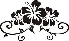Hibiscus Flower Design Tiki Buscar Con Google Tatouage Hibiscus Fleurs Hawaiennes Tatouage Hawaien