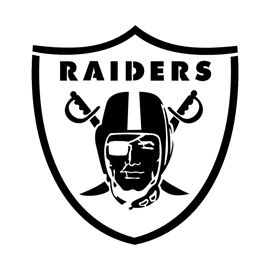 Nfl Oakland Raiders Stencil Raiders Wallpaper Raiders Car Oakland Raiders Logo