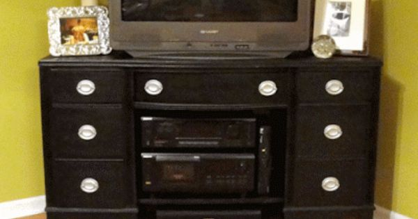 Treasure Our New To Us Tv Stand Desk Tv Stand Tv Stand Diy Tv Stand